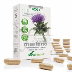 11-S MILK THISTLE RETARD 30 CAPSULES SORIA NATURAL
