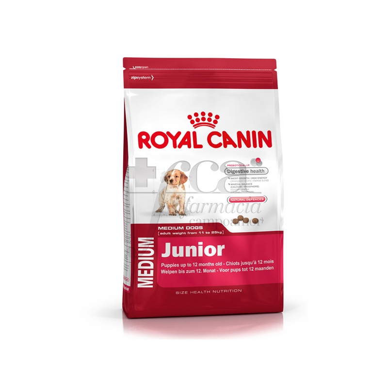 royal canin medium junior 10 kg farmacia campoamor. Black Bedroom Furniture Sets. Home Design Ideas