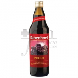 RABENHORST PLUM ORGANIC JUICE 750 ML
