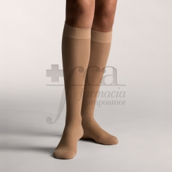 FARMALASTIC 2 COMPRESSION KNEE SOCKS BEIGE L
