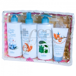 BASKET ALDEM SOAP+MILK+COLOGNE+CREAM PROMO