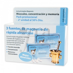 ACTIVECOMPLEX MAGNESIO 2X60 TABLETS PROMO