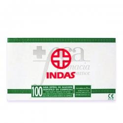 GASA ESTERIL INDAS C/100 UND.